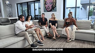 Charlotte Sins & Diana Grace In Unconventional Stepdaughter Sex Therapy