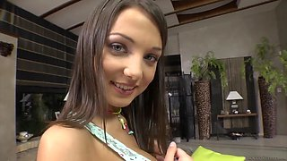 cute russian teen foxy di teases the camera with her perfect body