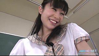 Nipponese Naughty Teen Shows Her Panties Mind-blowin