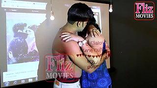 Mallu Mature Aunty Opens Her Saree Blouse, Part 1