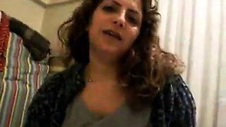 Turkish girl sucking dick