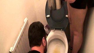 Femdom BRats humiliate slaves in toilet