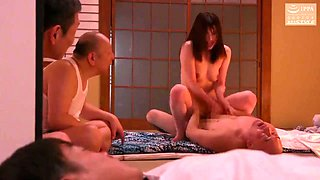 18 Years Old In Nipponese Lustful Hussy Incredible Gangbang Clip