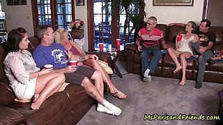Horny Quarantined Family Reunion Turns Into a TABOO Orgy