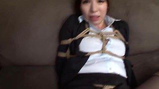 Astonishing Adult Video Hogtied , Check It - Kayama Mio