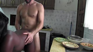 Exotic Interracial, Cumshot adult movie