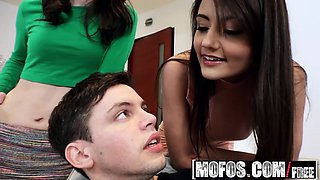 Mofos - Share My BF - Shy BFs First Threesome
