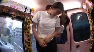 Fabulous Japanese whore in Best Bus JAV video