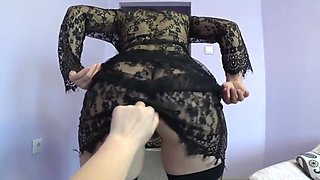 Mature Girlfriend Makes A Fisting Young Lesbian In Her Hairy Pussy. Pov