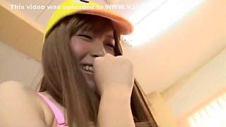 Crazy Japanese model Hirono Imai in Fabulous Blowjob, Bukkake JAV movie