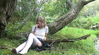 Horny Cheating Housewife is Stood Up FIXED; Public Masturbation, Cute Feet