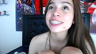 Braces Latina Innocent Webcam Baby