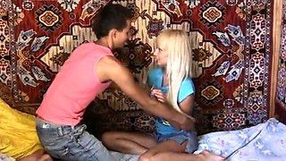 Russian blonde babe Devon's copher needs adult fucking