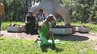 Girl flashing in public polinamalashevich-1