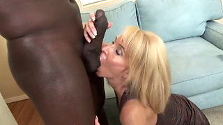 Erika lauren  sucks a bbc