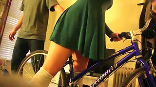 Stepdaughter's panties
