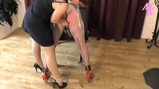 FemDom Sissy Slut Training - Dominatrix Mistress Kristin