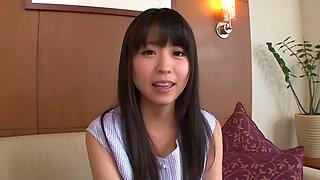 Hottest Japanese chick Yuna Shina in Amazing JAV censored Fingering, Hairy scene