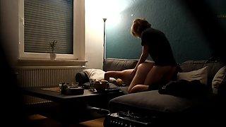 Secret Camera - Netflix and Chill - Sister with Boyfriend - Voyeur - 4K