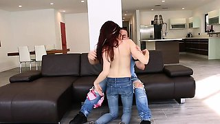 TeenPies - Hottie Creampied By Her Sisters Ex-BF