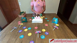 Daughter celebrates 18th birthday by fucking her stepfather