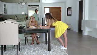 Cheating Wife Asks Daughter To Fuck Stepdad So He Does Not Leave