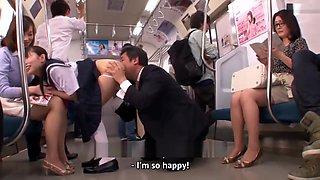 Bus of Japanese adulterer Engsub