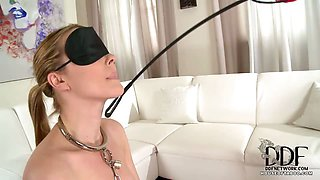 Rubber Ruby Trains New Slave