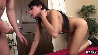 See Ultra-Hot European BABE Alison Star Choke HARD!