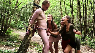 Hot pornstar outdoor with cumshot