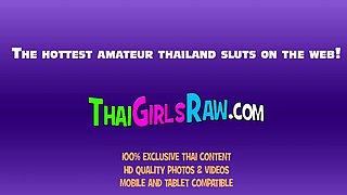Thai Teen Whore Sucks Cock and Fucks