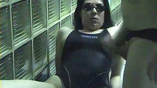 Pipe in swiming pool