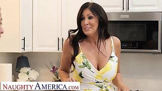 Naughty America - Big tit Milf Reagan Foxx gets fucked
