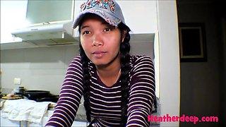 18 week pregnant thai teen heather deep nurse deepthroat