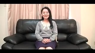 56yr old Granny Takako Numai acquires Cum Filled (Uncensored)