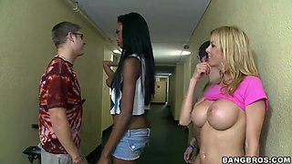 Alexis Fawx and her slutty friend have amazing sex