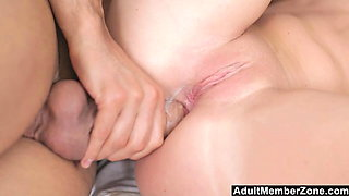 Adult Member Zone - Babe Angie Gets Intense Anal