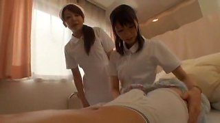 Incredible Japanese chick Yuria Shima, Azusa Ito in Amazing Nurse, Rimming JAV video