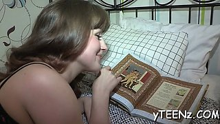 smoking girl gives head teen movie 2