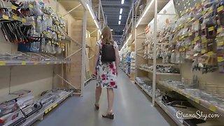 Flashing Stroll And Shopping - Oxanashy