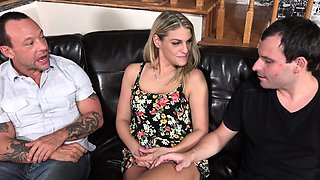 Stevie Smith Makes Husband Watch and Suck Cock