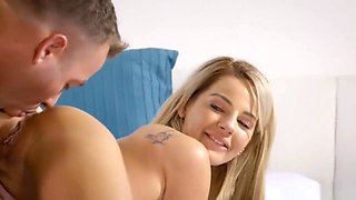 Glamour Blonde Teen Babe Gets Screwed In Many Positions