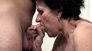 ugly old granny needs a young dick