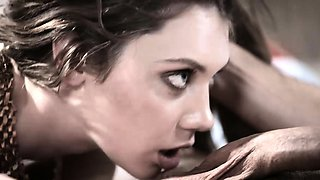 Russian mail order teen bride squirts on new husband
