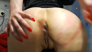 young russian slut loves anal - gaping perfect ass