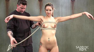 Dallas Blaze in Blonde College Student Is Subjected To Extreme Suffering. - SadisticRope