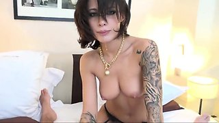 Exotic Stockings, French adult clip