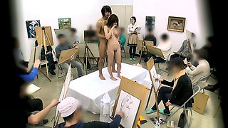 An Experience Of A Japanese Drawing Model