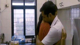 Indian hot romance couple