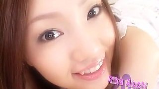 Exotic Japanese girl Rika Aiuchi in Hottest Swallow/Gokkun, Blowjob/Fera JAV video